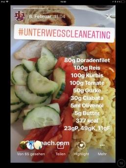 Dorade mit Gemüse und Reis